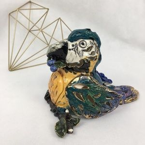Blue Sky Clayworks Lighted Parrot Macaw